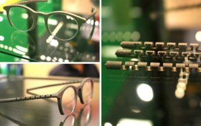 Carlottas Village presenta en Silmo la primera gafa en el mundo fabricada en titanio con una impresora 3D